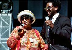 Aretha Franklin with Al Green #ArethaSings