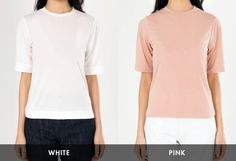 #mixxmix Plain Round Neck T-Shirt (BWLH) This t-shirt is the top choice for basic wear for its comfortable feel, flexible style, and charming aura. #mxm #hideandseek #has #365basic #bauhaus #99bunny#koreanfashionstyle #girlsfashion #lovelywoman #kstyle #koreangirls #streetfashion #twinlook #dailyoutfit #styling