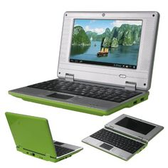 "Green 7"" Mini Android 4.1 Netbook Laptop Notebook with Camera Wifi Via8850 4gb - http://www.computerlaptoprepairsyork.co.uk/laptop-computer/green-7-mini-android-4-1-netbook-laptop-notebook-with-camera-wifi-via8850-4gb"