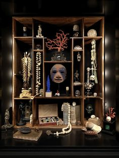The Poetry of Things,An article based on the conversation with Georg Laue,Kunstkammer Cabinet Cabinet Of Curiosities, Art Premier, Curiosity Shop, Vintage Medical, Miniature Crafts, Memento Mori, Box Art, Art Boxes, Shadow Box