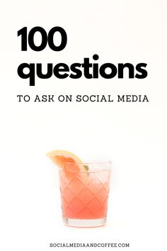 Do you need some conversation starters for your social media page? Here are 100 questions to use today! Social media marketing | online business | Facebook marketing | Instagram marketing | blog | blogging | business tips | marketing ideas | entrepreneur | small business marketing | #onlinebusiness #Facebook #Instagram #marketing #blog #blogging #entrepreneur #smallbusiness #smm Small Business Marketing, Marketing Ideas, Online Business, Social Media Quotes, Social Media Tips, Facebook Instagram, Instagram Tips, Facebook Marketing, Social Media Marketing