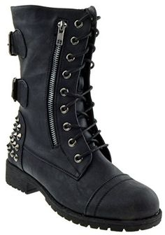 noir walking in my web heavy sole boots iron sole and toe