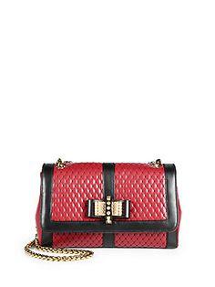 Christian Louboutin Small Sweet Charity Shoulder Bag (=)