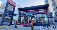 Inauguration of Isuzu Pasig Visit their new office located at E. Rodriguez Jr. Ave. Cor Calle Industria, Brgy. Bagumbayan, Quezon City (near Eastwood Libis) #balloondecorsPasig #balloonsPasig #balloonscarshowroom #shairishballoons #inauguration Balloon Pillars, Quezon City, Balloon Decorations, Jr, Balloons, Store, Globes, Larger, Balloon