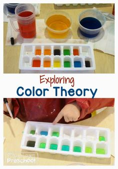 What is better than a color theory experiment? A color theory experiment that includes chemistry and fine motor skills to boot! This fizzy rainbow activity is an excellent (and easy!) way to present all 3 things to your preschoolers. Preschool Colors, Preschool Science, Toddler Preschool, Teaching Colors, Toddler Learning, Color Activities, Science Activities, Activities For Kids, Painting Activities