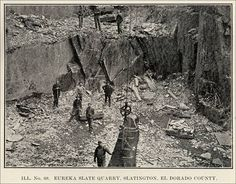 eureka slate quarry slatington el dorado county