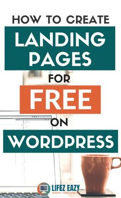 Create free landing page on WordPress using a special plugin. You can create any page like opt-in page, sales page, video landing page etc. Wordpress For Beginners, Learn Wordpress, Wordpress Plugins, Blogging For Beginners, Wordpress Guide, Wordpress Free, Affiliate Marketing, Online Marketing, Content Marketing