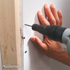 a good drywall job starts with solid backing and properly driven fasteners. learn how pros make their finished drywall look smooth and straight.