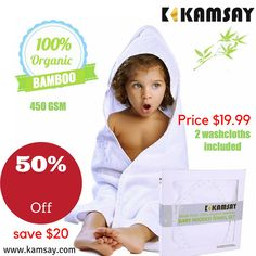 Hooded Bath Towels, Happy Smile, Towel Set, Washing Clothes, Baby Care, Baby Gifts, Hoods, Bamboo, Infant
