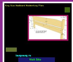 King Size Headboard Woodworking Plans 124239 - The Best Image Search