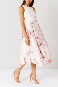 Buy Coast Orsay Floral Midi Dress Shorter Length, Multi from our Women's Dresses range at John Lewis & Partners. Ball Dresses, Evening Dresses, Short Dresses, Dresses For Work, Summer Dresses, Floral Midi Dress, Midi Skirt, Coast Dress, High Low Skirt