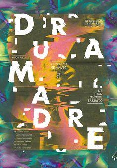 D u R A m A D R E — Afiche on Behance