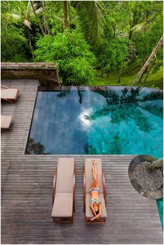Even a birds-eye view of the COMO Shambhala Estate in Bali can tell you this is a nice place to land….