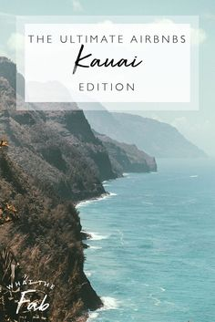 If you're planning a trip to Kauai Hawaii then finding the perfect place to stay is important! This is the ultimate guide to the BEST Airbnbs in Kauai!!  kauai hawaii airbnb | kauai airbnb | best airbnb Kauai | best airbnb in Kauai | best places to stay in Kauai | kauai places to stay | kauai hawaii best places to stay | kauai hawaii | kauai beaches  #kauaihawaiiairbnb #kauaiairbnb #bestairbnbkauai #bestairbnbinkauai #bestplacestostayinkauai #kauaiplacestostay #kauaihawaiibestplacestostay… Hawaii Vacation Tips, Vacation Places In Usa, Vacation Spots, Beach Vacations, Usa Travel Guide, Travel Usa, Travel Tips, Maui Travel, Hawaii Life