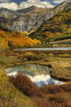 Fall on Red Mountain Pass, Colorado
