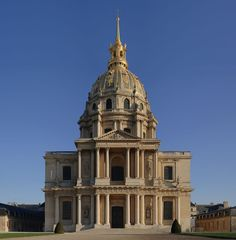 Les Invalides, from the south