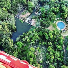 Bush Willow Tented Camp - a view from above. What an increadible picture Thanks for sharing your experience with us. Hotel Spa, Tent Camping, Lodges, River, Photo And Video, Eyes, Pictures, Outdoor, Beautiful