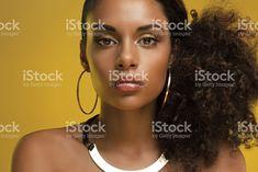 Beautiful African-American Woman royalty-free stock photo