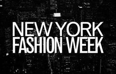 Its here! February 6th - 13th. #NYFW