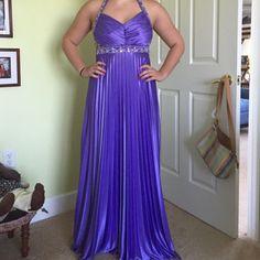 Beaded Halter Formal Dress From Windsor