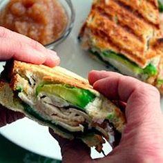 Turkey and Avocado Panini Allrecipes.com