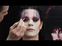 Cinema Secrets official Elvira professional makeup kit tutorial.