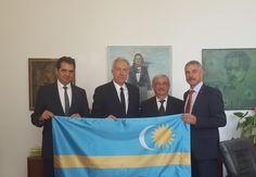 Antal Árpád, Hans Klemm, Kató Béla és Tamás Sándor