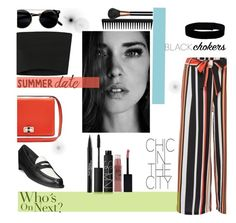 """Summer Date"" by lifeisworthlivingagain ❤ liked on Polyvore featuring Urban Renewal, Diane Von Furstenberg, Therapy, Cole Haan, NARS Cosmetics, Trish McEvoy, Maybelline, MAC Cosmetics, Calvin Klein Collection and GHD"