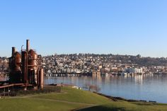 A sunny day @ Gasworks Park, Wallingford, Seattle