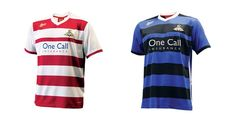 Doncaster Rovers Home & Away Kits Sports Shirts, Football Shirts, Doncaster Rovers, Louis Williams, Home And Away, Louis Tomlinson, T Shirt, Tops, Design