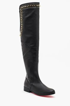 Betsey Johnson Slayerr Thigh High Boot