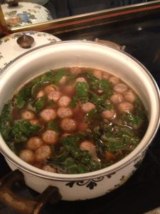 """Italian"" Wedding Soup Recipe @Rhonda"