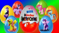 My Little Pony Surprise Eggs kinder sorpresa Huevo Sorpresa MLP  킨더 서프라이...