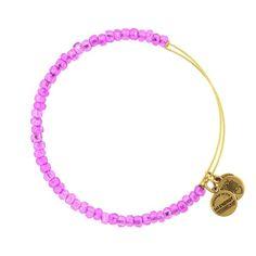Purple Sea Bead Bracelet | Alex and Ani
