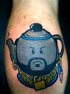 Mr Teapot Tattoo... why do I think this is so funny