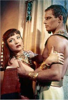 Ten Commandments (1956), Anne Baxter and Charlton Heston