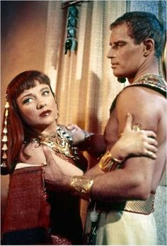 Ten Commandments (1956), Anne Baxter and Charlton Heston