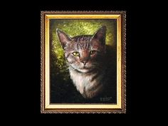 (Kitty Part 1) Learn How To Paint A Cat In Acrylic - YouTube