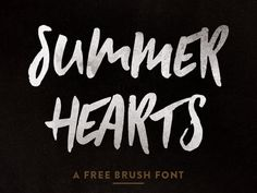 "Check out this @Behance project: ""SUMMER HEARTS - FREE FONT"" https://www.behance.net/gallery/38331175/SUMMER-HEARTS-FREE-FONT"