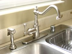popular faucets kitchen | ... Kitchen Appliances' Best Sink Faucets' Kitchen Sink Faucets Lowes