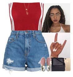 """"""""""" by mxnvt ❤ liked on Polyvore featuring Nobody Denim, Sophie Hulme, Vans, Edge of Ember, ERTH and Clarins"""