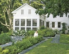 . . . and after . . .  Architectural designer Nancy Fishelson reinvents a 1795 Connecticut house....