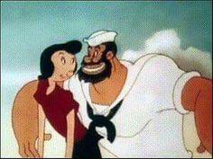 Popeye The Sailor Man, Ronald Mcdonald, Childhood, Family Guy, Cartoon, Guys, Fictional Characters, Infancy, Cartoons