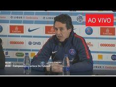 Coletiva com técnico Unai Emery do PSG que fala da lesão de Neymar 27 02...