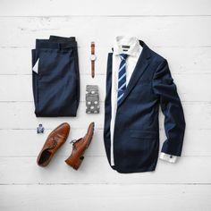 Dapper Attire Mid Week #mensfashion #suitandtie #suit