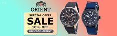 Buy Orient Watches For Men & Women at 10% OFF, Use Coupon Code : ORIENT, Hurry Up Guys...!!! Orient Watch, Coupon Codes, Coupons, Watches For Men, Coding, Guys, Stuff To Buy, Women, Coupon