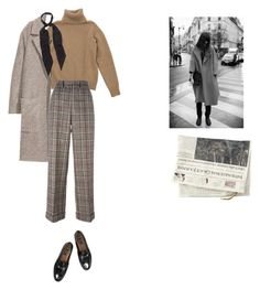 """""""parisian afternoon"""" by moonblushes on Polyvore featuring H&M, Rockins, Junya Watanabe Comme des Garçons and Gucci"""