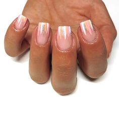 S T R I P E S ✨.Prep @navyprotools.Using @premier.gel Paris, White, Silver Sparkle, Strawberry Laces Tape Nail Art, Nail Art Diy, Diy Nails, Silver Nail Art, Glitter Nail Art, Cute Summer Nails, Spring Nails, Striping Tape, Nail Art For Beginners