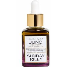 Sunday Riley 'Juno' Hydroactive Cellular Face Oil (1.204.200 IDR) ❤ liked on Polyvore featuring beauty products, skincare, face care and no color