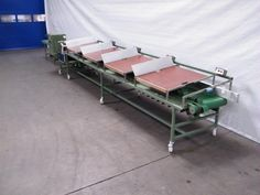 • Single sinking roofbelt • Fixed length indicator • Analog controlled • Capacity: 1500 per hour • Maximum steel length output: 850 mm • Voltage: 400Volt, 3 phases, zero + earth, 50 Hz  • Width main belt: 600 mm • Length inlay part: approx. 5000 mm, provided with 4 inlay tables and a counting system • 1 binder place before the processing unit - Including 1 binder (EM 15) • Processing unit with 1 cutting unit saw • Length collecting belt: approx. 2000 mm • Total length machine: approx. 8750…